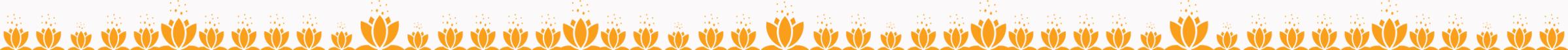 שורת פרחי לוטוס לאתר לב שלווה | המרכז למיינדפולנס ומדיטציה בירושלים